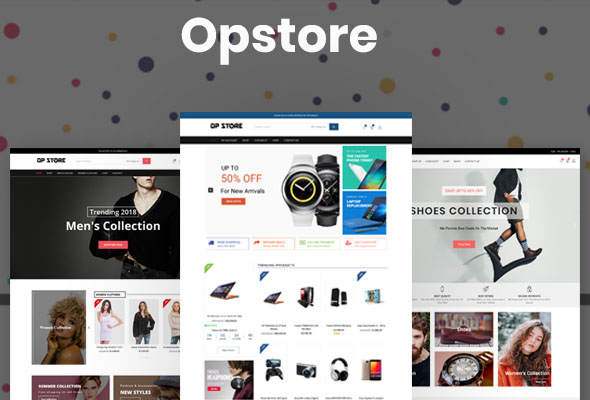 Opstore-Free Ecommerce Theme